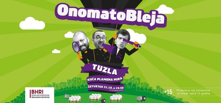 Onomatobleja Show stiže u Tuzlu
