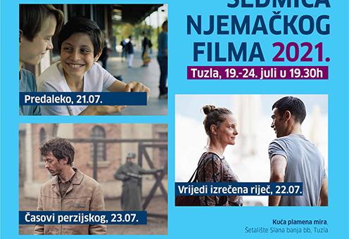 Sedmica njemačkog filma u KPM