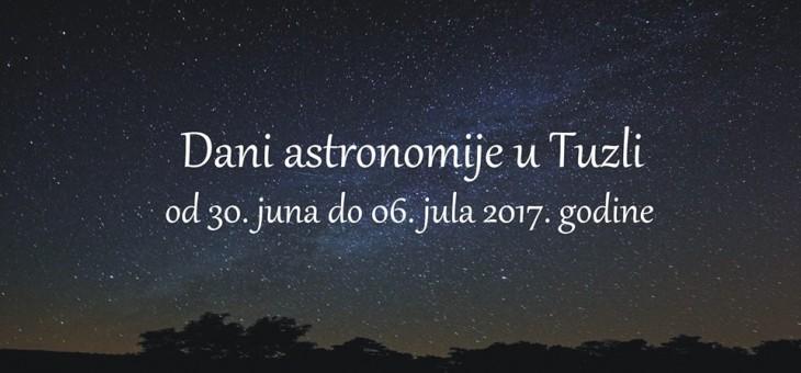 Dani astronomije u Tuzli