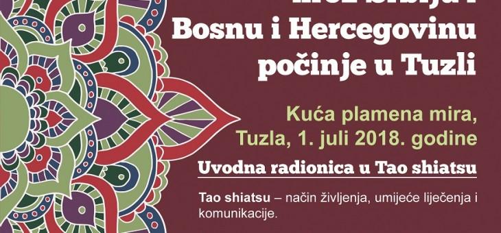Earth Caravan Balkan tour – shiatsu radionica u KPM 01.07.2018.