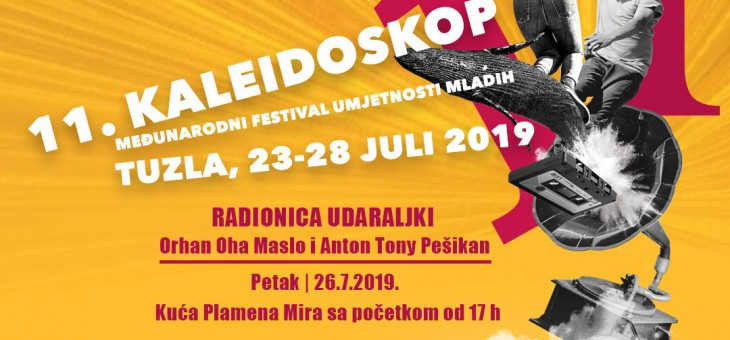Festival Kaleidoskop: Poziv na radionicu udaraljki